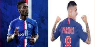 Au PSG, La concurrence reprend entre Paredes et Gana Guèye-Capture
