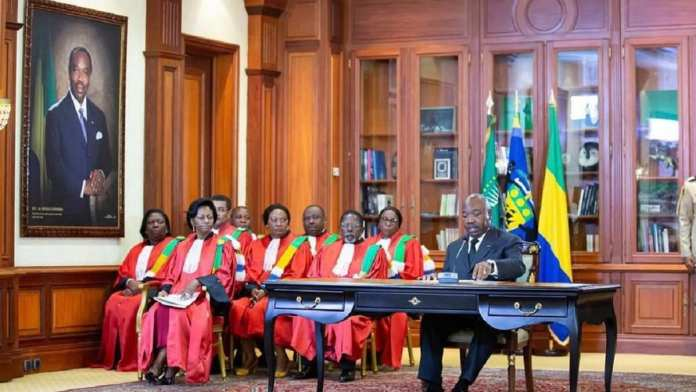 Noureddin Bongo Valentin, fils aîné d'Ali Bongo Ondimba, a été nommé président au Gabon ?