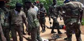 guerre de Bissau en 1998