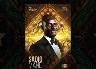 Sadio Mané élu joueur africain de l'année 2019 !