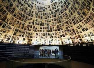 Yad Vashem, le mémorial de la Shoah à Jérusalem, accueille ce jeudi 23 janvier près d'une quarantaine de leaders du monde entier pour marquer le 75e anniversaire de la libération du camp nazi d'Auschwitz. REUTERS/Ammar Awad