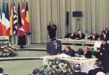 7 février 1992 : Traité de Maastricht ou acte fondamental de la construction européenne