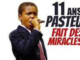 Ezekiel Stoddard a fait beaucoup de MIRACLES à l'âge de 11 ans.