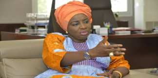 Aminata Toure alis Mimi Toure, ex premier ministre