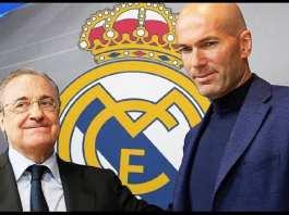 Le Real Madrid a pris sa décision pour Zinedine Zidane  
