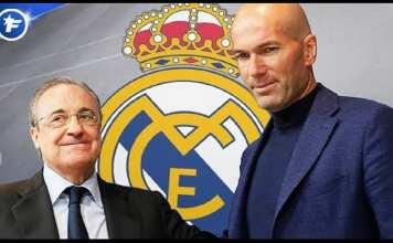 Le Real Madrid a pris sa décision pour Zinedine Zidane |
