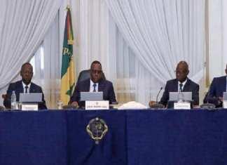 Conseil des Ministres du mercredi 1er avril 2020