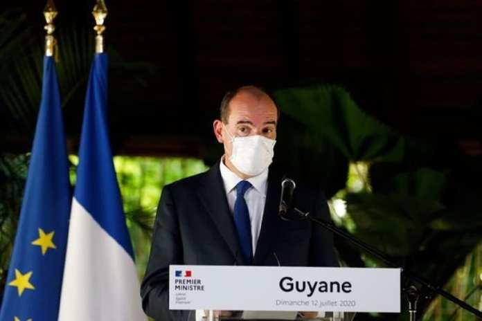 La gaffe de Macron en 2017 a refait surface, mais le Premier ministre s'exprimait depuis l'Île de Cayenne.