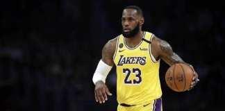 LeBron James a choisi de ne pas porter de message politique sur son maillot