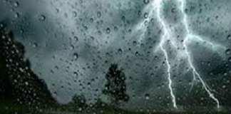 Orages et pluies annoncées à l'Est, au sud et au centre