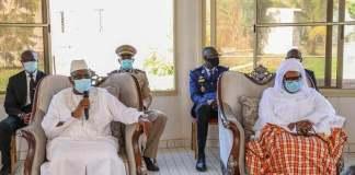 Présentation de condoléances et celles de la Nation à la famille de Feu Babacar Touré3