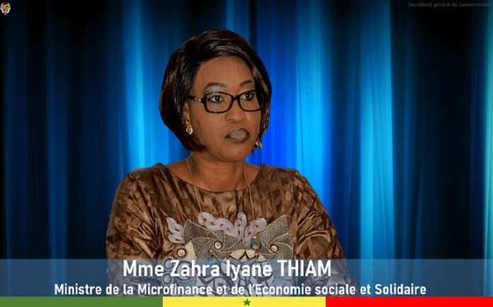 Zahra Iyane Thiam, ministre de la Microfinance