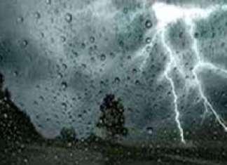 Des activités pluvio-orageuses attendues sur le Sud