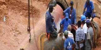KMS 3, travaux achevés à 80 %, sera en service dans un trimestre