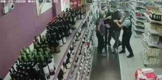 La situation dégénère à cause d'un masque mal mis dans un supermarché de Breil-sur-Roya