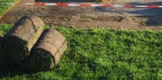 Thiès Démarrage des travaux de pose de la première pelouse de Maniang Soumaré