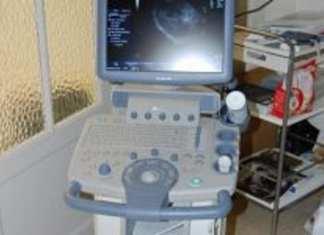 Un appareil d'échographie du PUMA au Poste de Santé de Djirinda