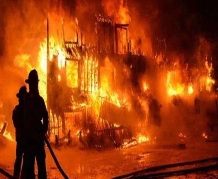 Un incendie au marché central de Louga, 20 cantines et 9 étales consumés par le feu