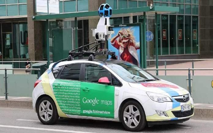 Une caméra Google Maps surprend une femme dans une posture embarrassante – photo