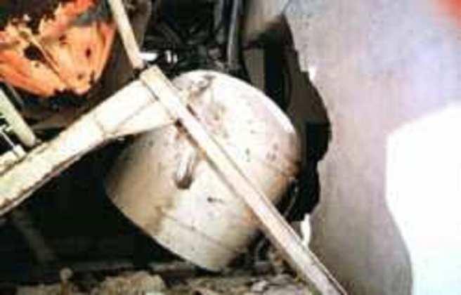 explosion d'un camion d'ammoniaque