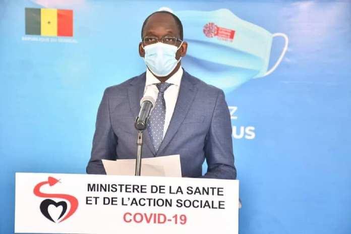 Abdoulaye Diouf Sarr, Ministre de la Santé et l'Action Sociale