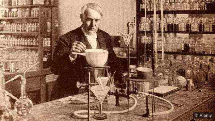 Les inventions de Thomas Edison n'étaient pas seulement des traits de génie - elles étaient le résultat d'une réflexion et de tests disciplinés et stratégiques (Crédit Alamy)