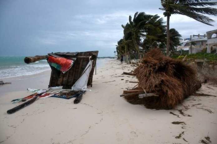 L'ouragan Zeta a touché terre près de La Nouvelle-Orléans, en Louisiane+