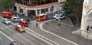 Trois morts dans une attaque au couteau à Nice