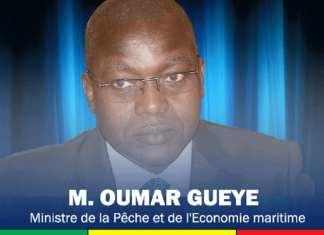 Oumar Guèye, ministre des Collectivités territoriales du Développement et de l'Aménagement des territoires1