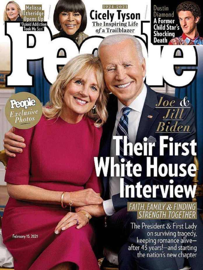 Biden a figuré aux côtés de son mari sur la couverture de People cette semaine et a accordé une interview au magazine Parents.