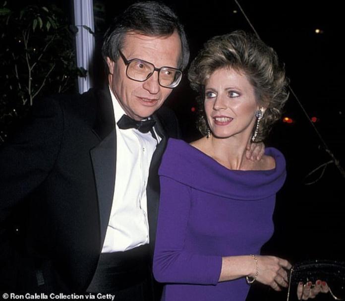 Larry King et cinquième épouse Sharon Lepore
