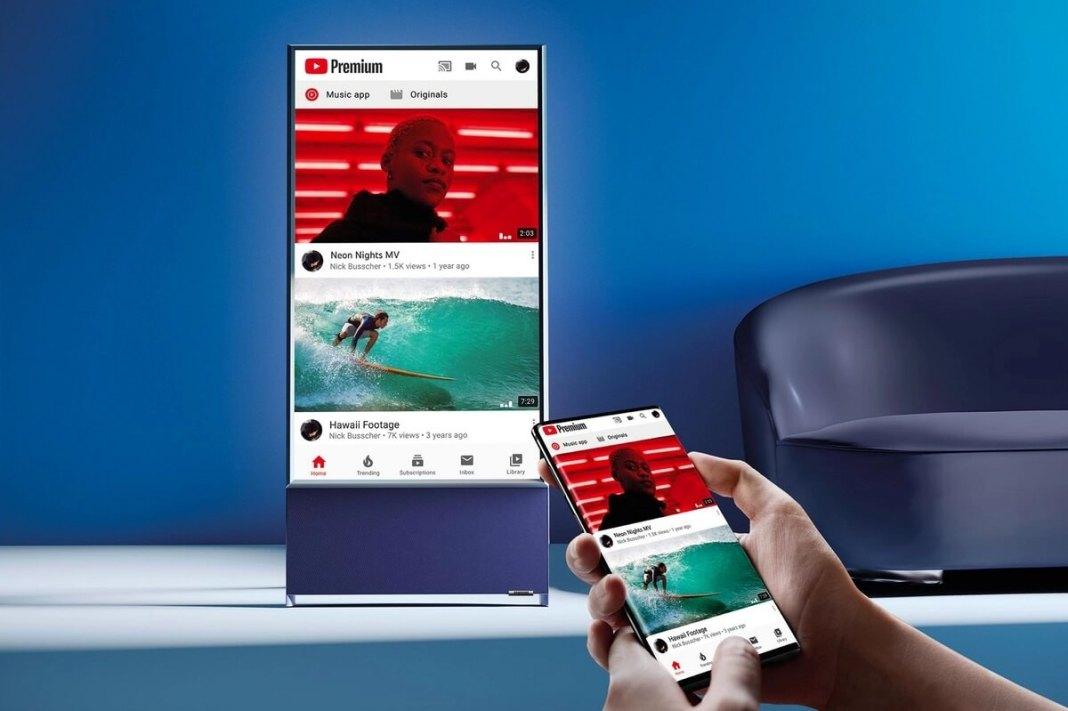 Samsung The Sero un téléviseur vertical pour les accros au smartphone... Samsung de préférence