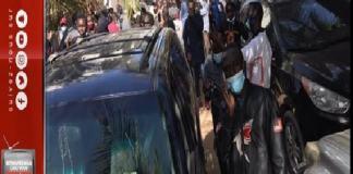 Urgent! Tirs de lacrymogènes devant le domicile de Ousmane Sonko pour disperser la foule
