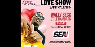 🛑 [Saint Valentin] Suivez Wally Ballago Seck en concert live   Samedi 13 Février 2021