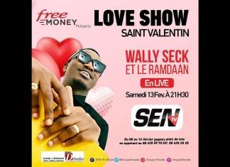 🛑 [Saint Valentin] Suivez Wally Ballago Seck en concert live | Samedi 13 Février 2021