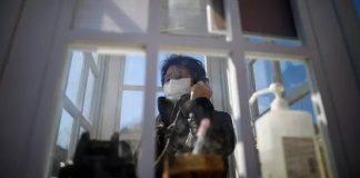 Sachiko Okawa, 76 ans, a perdu son mari Toichiro lors de la tragédie.