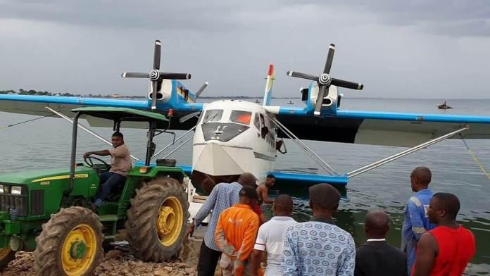 Première Navire volant en Afrique précisément en RD Congo2