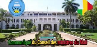 communique-conseil-cabinet-ministre-presidence-republique-palais-koulouba