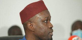 Autorisation de sortie du territoire www.kafunel.com Le procureur rejette la demande d'Ousmane Sonko (média)