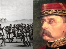 18 juin 1858, signature d'un traité de paix entre Louis Faidherbe et Almamy Abdoul Boly Kane du Dimat