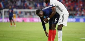 Euro www.kafunel.com pas d'enquête disciplinaire contre Rüdiger, après son geste sur Pogba (UEFA)