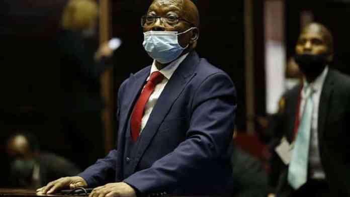 Outrage à la justice, la prison pour Jacob Zuma