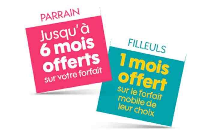 Sosh et NRJ Mobile www.kafunel.com parrainez jusqu'à 6 filleuls, et profitez de 6 mois gratuits parrainage-sosh