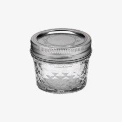Ball Mason Jars quilted crystal jelly regular mouth