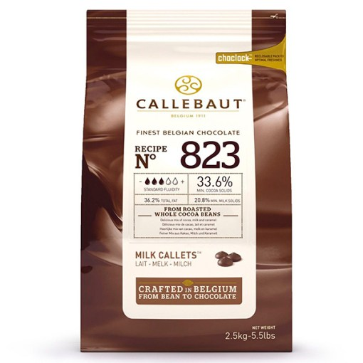 Callebaut Chokolade lys