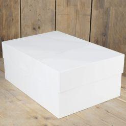 Kageboks Hvid, 40 x 30 x 15 cm – FunCakes