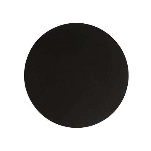 SEJ Design dækkeserviet – Rund sort large