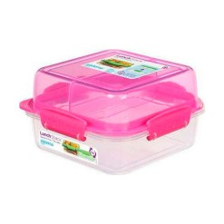 Sistema Madkasse Lunch Stack™ TO GO™ - Blå, Grøn, Pink & Lilla