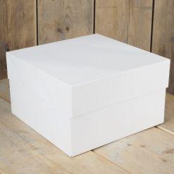 Kageboks Hvid, 35 x 35 x 15 cm – FunCakes