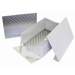 Kageboks med rektangulært kageplade 33 x 22,8 x 15 cm – PME